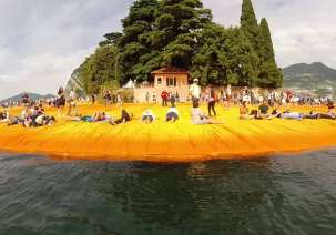 "Italy: Christo's ""Floating Piers"" close after a huge success"