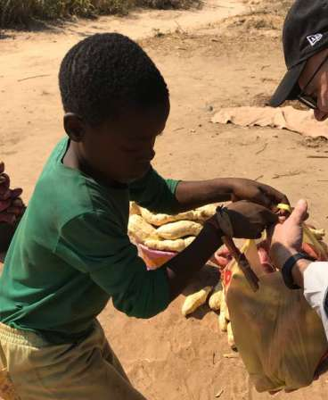 children in Zambia