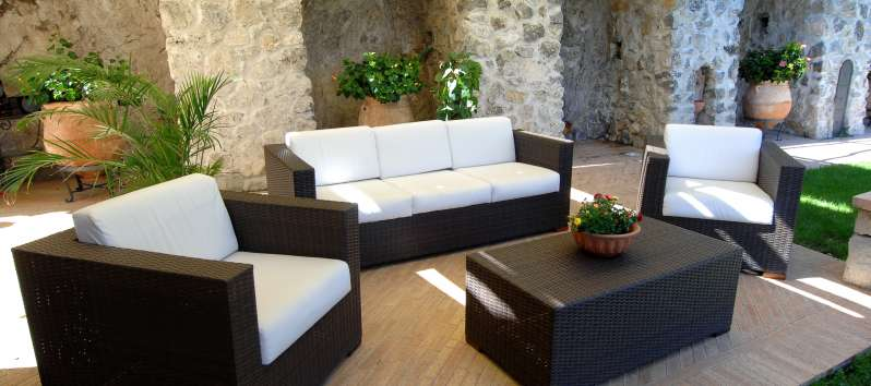 Villa Anouk outdoor sitting area