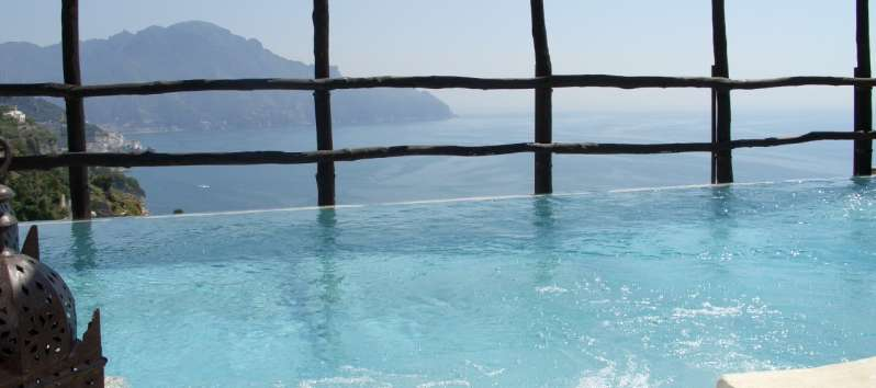 Villa Anouk splendid view from the pool