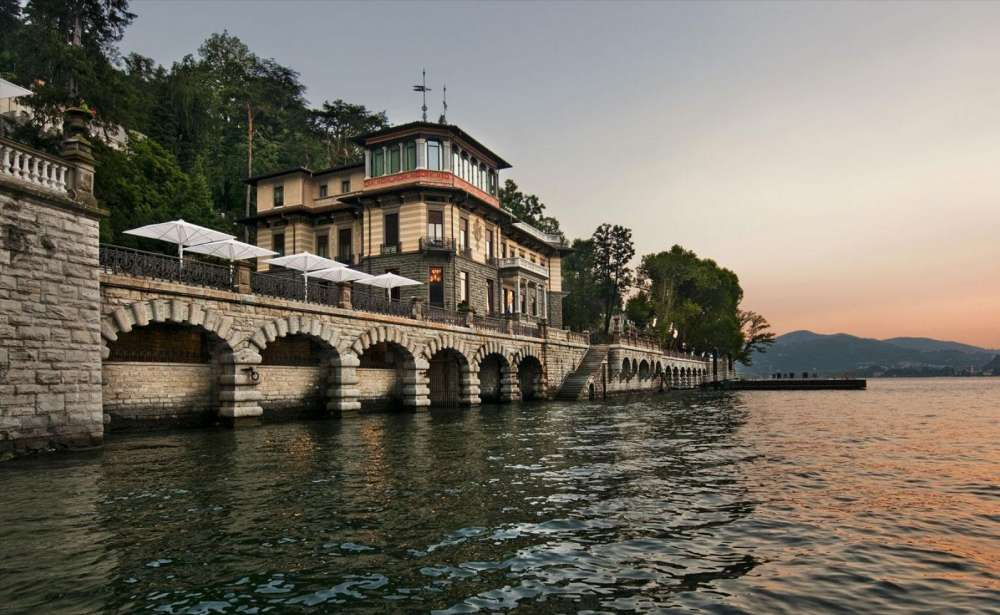 Blevio a panoramic terrace overlooking como lake - Casta e diva ...