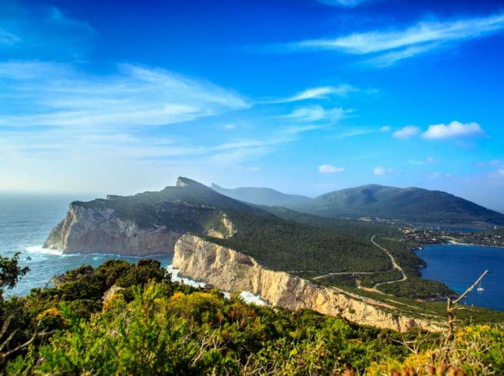 The Regional Park Of Porto Conte In Alghero And The