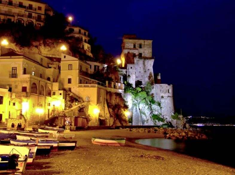 Cetara in Amalfi Coast, a town with small beaches and culinary delights