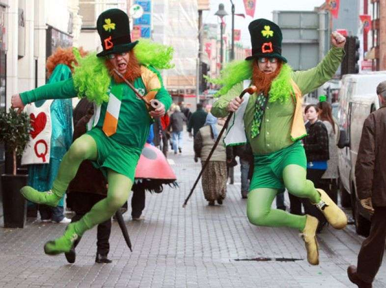 St. Patrick's Day 2013 in Italy: the Ireland's celebration from Milan to Urbino