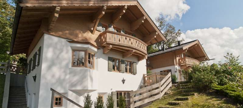 villa with garden in Kitzbühel in Austria