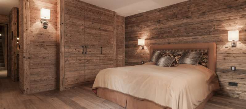 double room in the chalet in Hahnenkamm