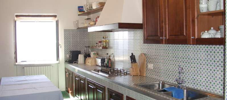 Villa Meridiana fully equipped kitchen