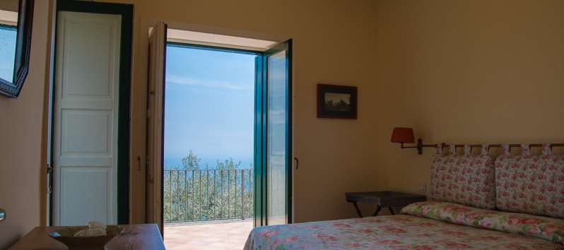 bedroom in the villa in Ravello