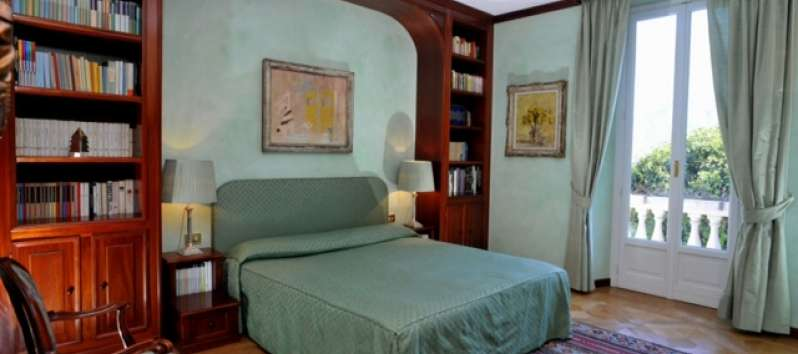 Villa Ilia green double room overlooking the garden