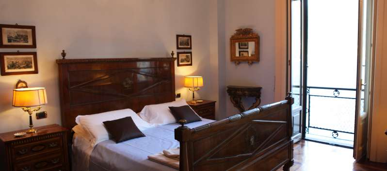 Villa le Palme double room with terrace