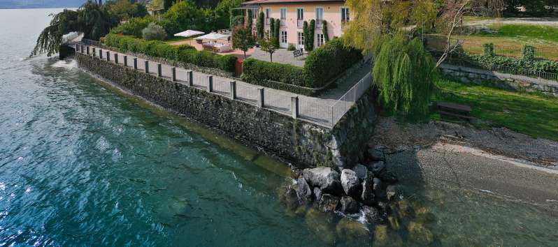villa with pool in Menaggio