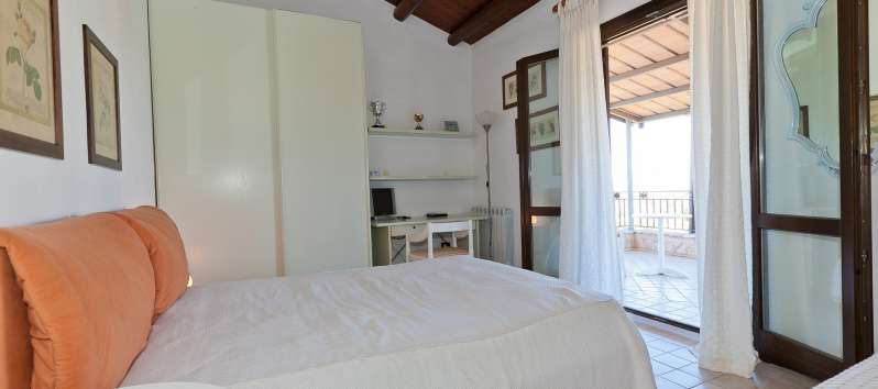 double bedroom in the villa with pool in Castellammare del Golfo