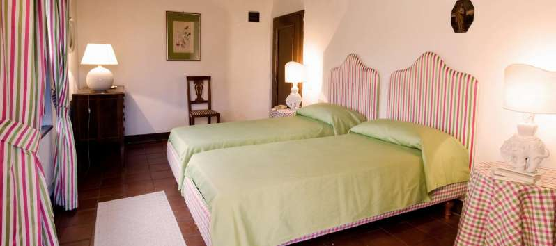 Villa Evan twin bed double room