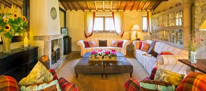 stay of the villa in Perugia