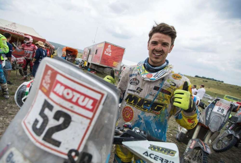 Congratulations to Jacopo Cerutti for his performance at the Dakar!