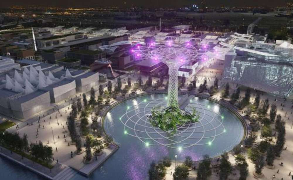 The Tree Of Life At Expo 2015 A Symbol Of Rebirth